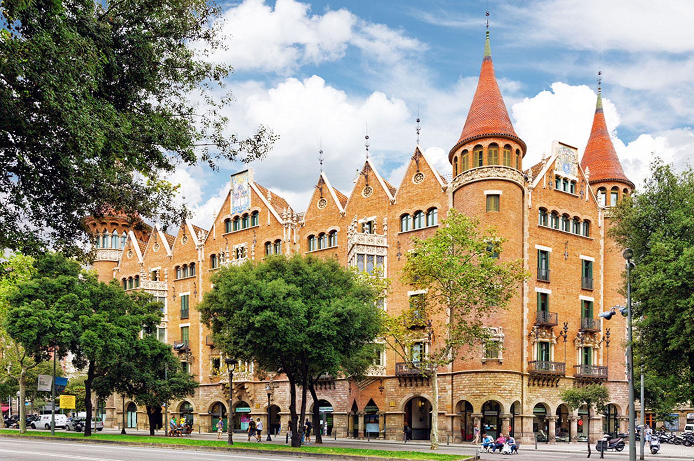 Casa terradas casa de les punxes knowing barcelona - Casa de las punxes ...