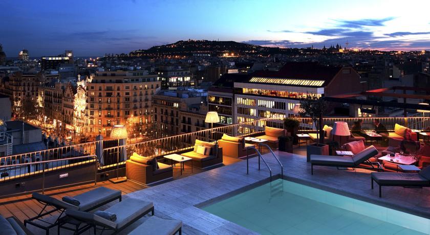 Hotel majestic spa knowing barcelona for Terrazas de hoteles en barcelona